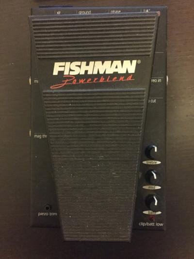 Fishman acoustic powerblend