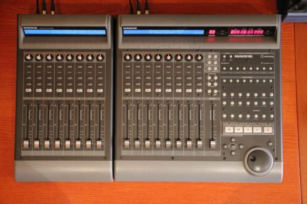 Mackie Control Universal + Extender + Motu Micro Express