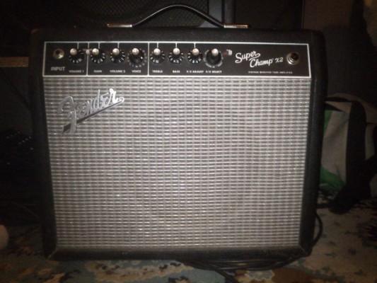 Fender Super Champ X2 (válvulas)