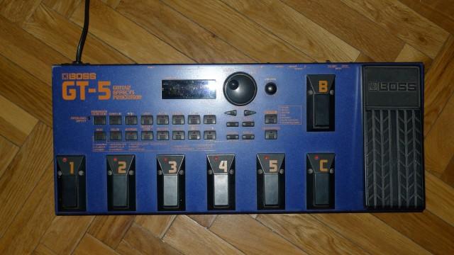 Pedalera Previo Boss GT5