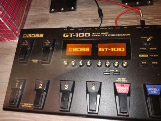 Cambio Boss GT100 x rocktron voodu valve