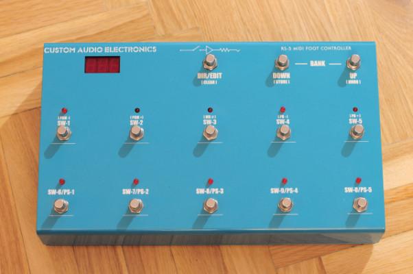 Pedalera MIDI CAE RS-5 MkII (Rara)