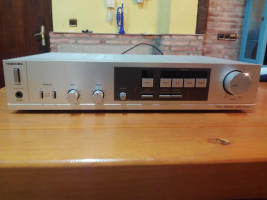Amplificador HI-FI Toshiba años 80+sintonizador digital