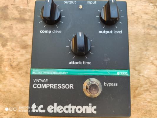 TC ELECTRONICS VINTAGE COMPRESOR