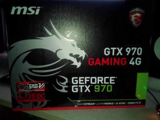 Grafica para PC MSI Geforce GTX 970 4GB