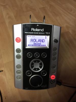 Vendo módulo Roland Td 9