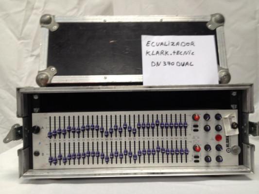 ECUALIZADOR KLARK-TECHNICS DN370 DUAL 1/3 OCTAVA
