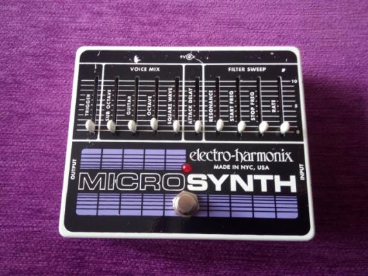 Vendo/cambio Electro Harmonix MicroSynth
