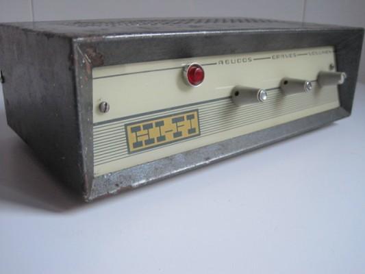 Amplificador a válvulas vintage (Roselson? Marconi?)
