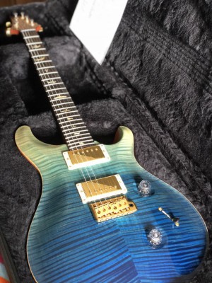 PRS Custom 24 Ltd Wood Library Blue Fade 25 Ann. (N.3/24)