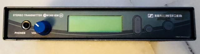 Monitoraje inalámbrico In Ear Sennheiser EM300 G2 + 3 petacas EK300 G2