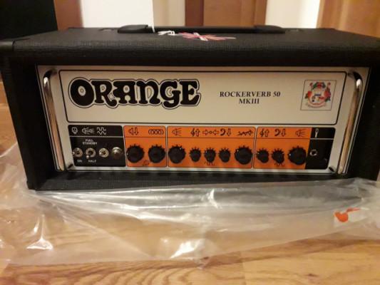 Orange Rockerverb 50 MkIII NUEVO