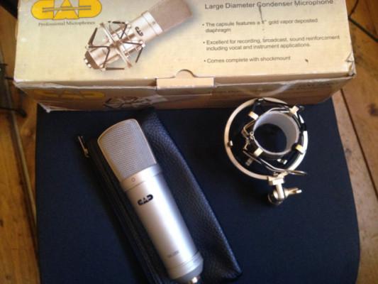 Micrófono gran diafragma CAD GXL2200
