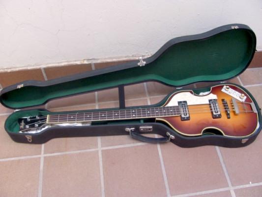 Hofner 500/1 Violin Bass made in Germany con estuche