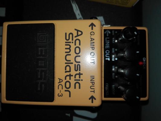 Boss acustic simulator