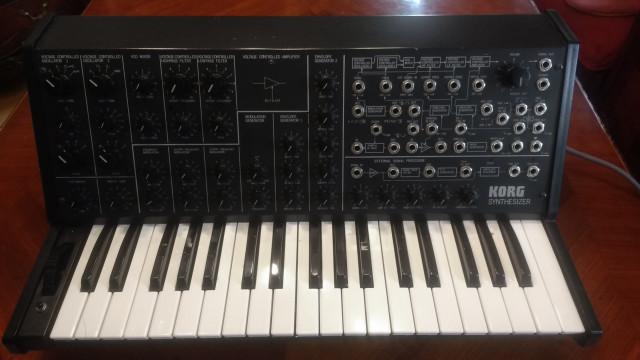 Korg MS-20, original de 1978