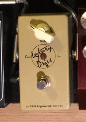 T-rex luxury drive booster Overdrive, compresor, boutique, impecable