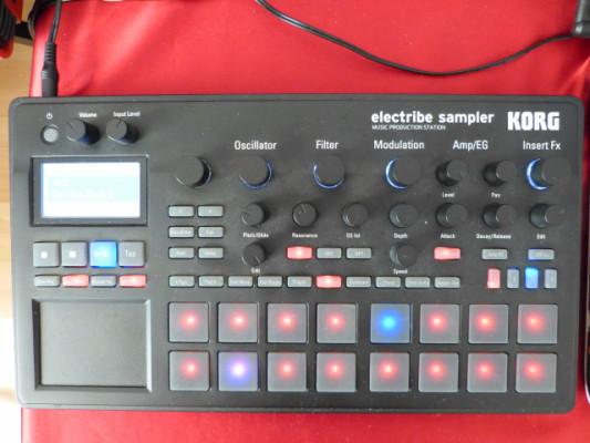 VENDO Electribe Korg Sampler 2, con algunos ritmos mios.