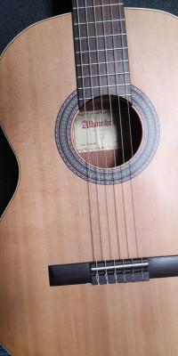 Guitarra funda y stand