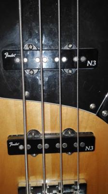 Pastillas para bajo Fender N3 Noiseless
