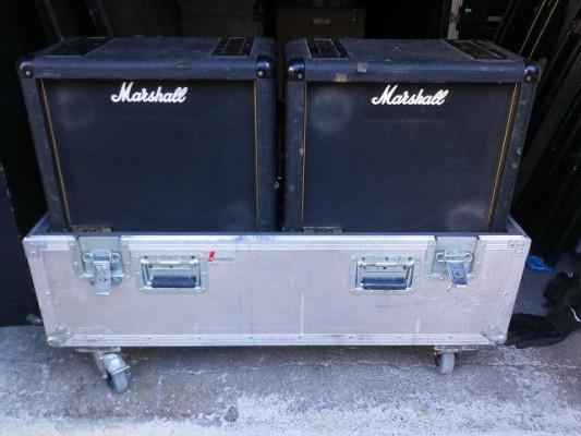 2 Marshall 1912 + case por 4x12 Fender Engl Mesa Boogie