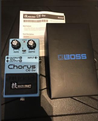 Boss CE-2W Waza Craft con vídeo - RESERVADO!!