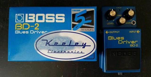 BOSS BD-2 modificado por Keeley