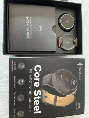 Metrónomo de muñeca Soundbrenner Core Steel Special Edition