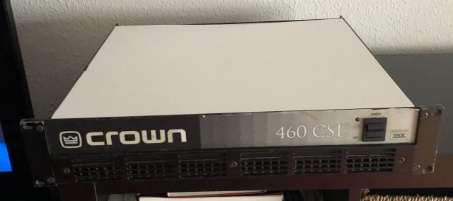 Etapa de potencia Crown 460 CSL