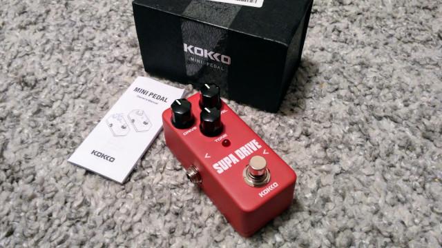 Pedal overdrive Kokko Supa drive (envío incluido)