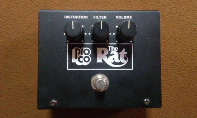 Pedal ProCo The Rat Big Box 1991