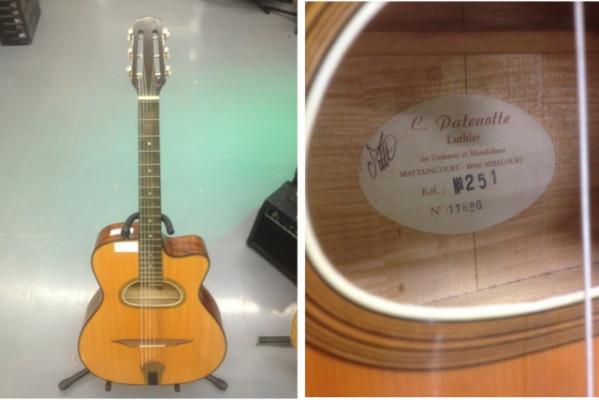 Guitarra manouche C. Patenotte modelo 251