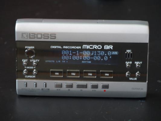 Boss Micro BR - Estudio de grabación digital ultraportátil