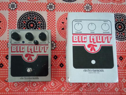 Big muff fuzz de Electro harmonix con Mod de tono instalado