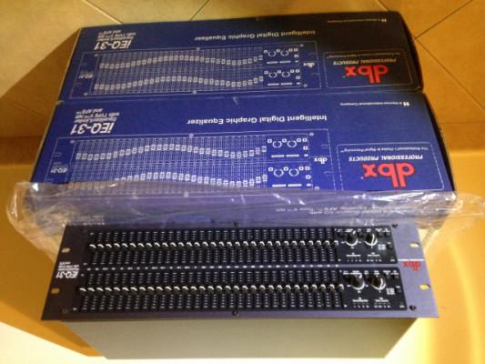 2 Unidades Ecualizador DBX iEQ31