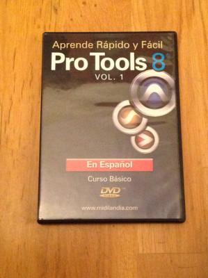 DVD Aprende Rápido Pro-Tools 8 (en Español)