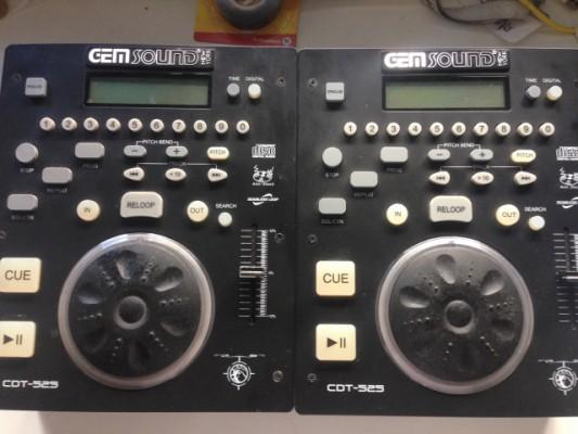 Reproductores Gen Sound CDT525
