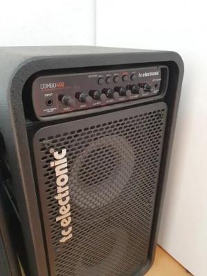 TC Electronics combo 450 amplificador para bajo