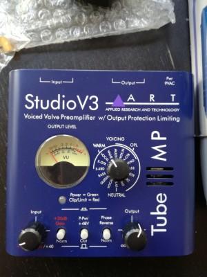 Pre amp ART Studio V3