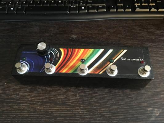 Saturnworks Custom 5-Looper (con Stereo Blender). Envío incluido.