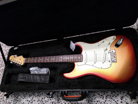 Fender Stratocaster American Deluxe Sunset Metalic