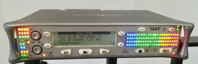 Grabador 4 canales Sound Devices 744T