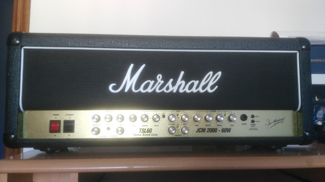 Marshall JCM 2000 tsl 60 triple super lead