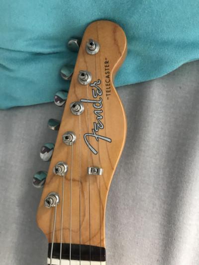 Fender telecaster con lollar o vendo por 800