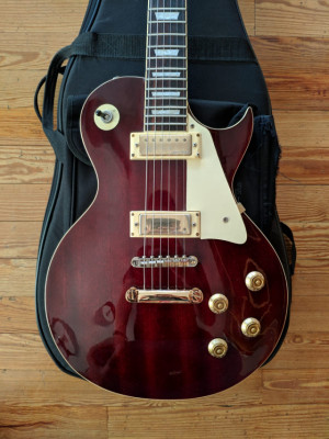 Guitarra Les Paul Vintage V100 Wine Red
