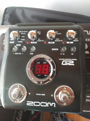o cambio pedalera multiefectos Zoom G2