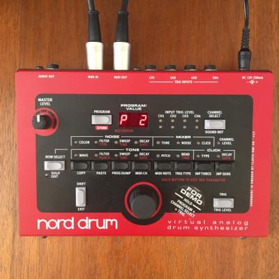 Nord Drum 1, sintetizador batería electrónica, como nuevo.