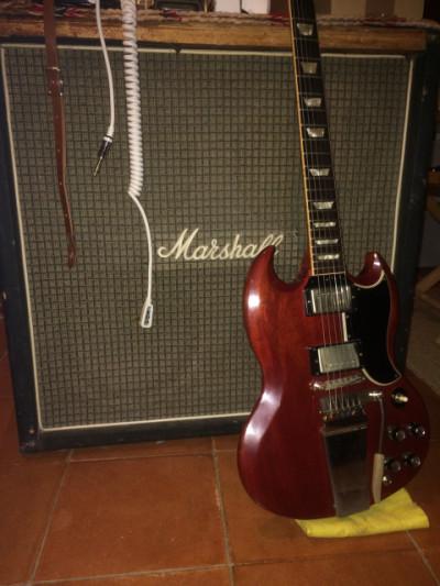 Marshall 4x12 de 1973 (PULSONIC Greenbacks)