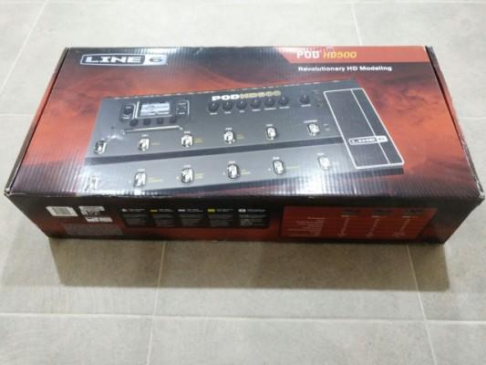 Pod HD 500 con muy poco uso