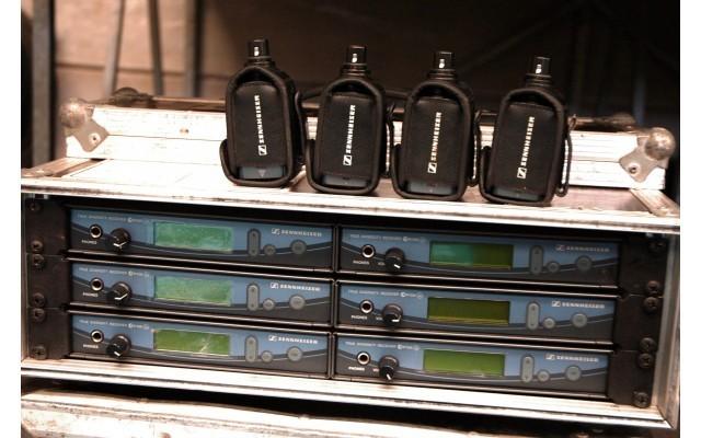 SENNHEISER WE-500 RECEPTOR+ EMISOR SKP 500PARA CUALQUIER MICROFONO